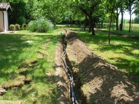 tubature per impianti di irrigazione