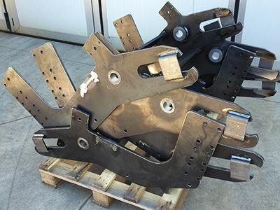 Carpenteria per Macchine di Sollevamento