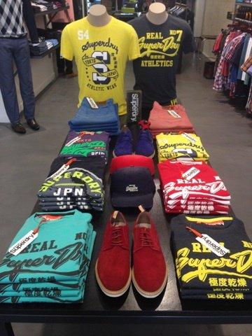 Range of men's tshirts