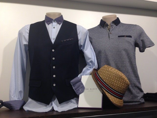 Men's clothing in Auckland store