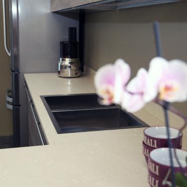 cucina con lavabo