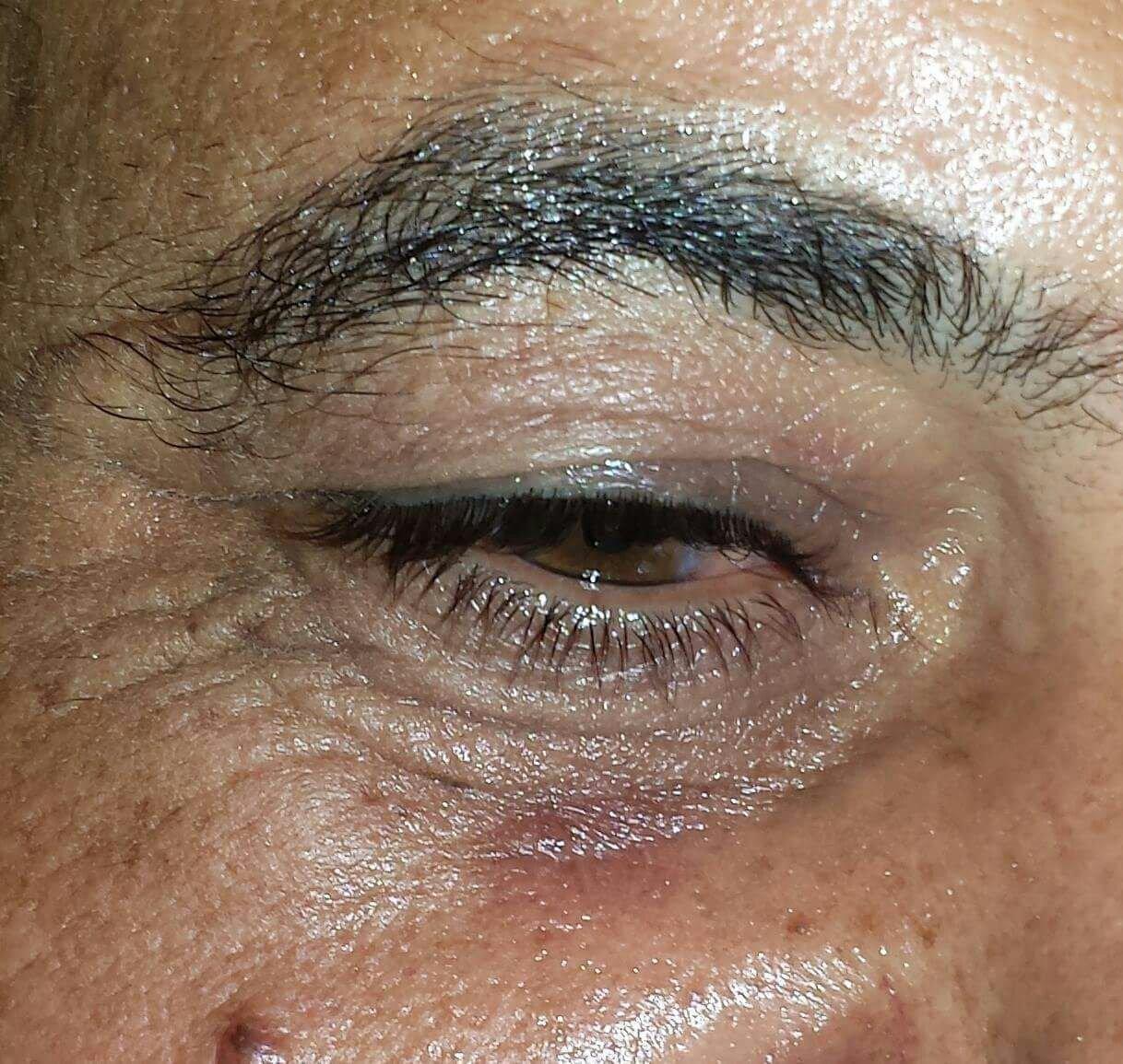 Dettaglio di un occhio