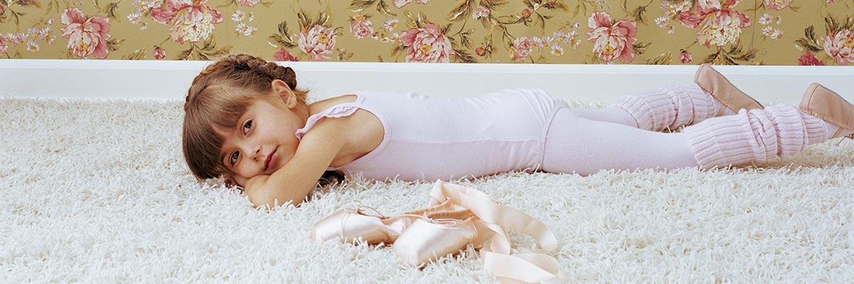 ballet dancer on carpet