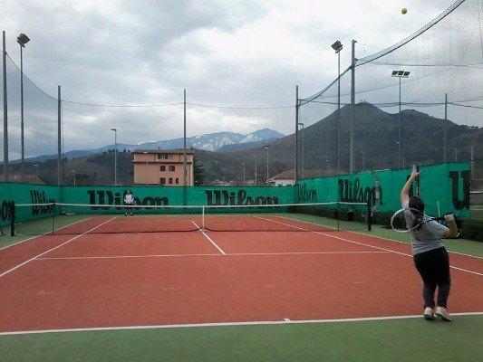 Classi di tennis e pratica