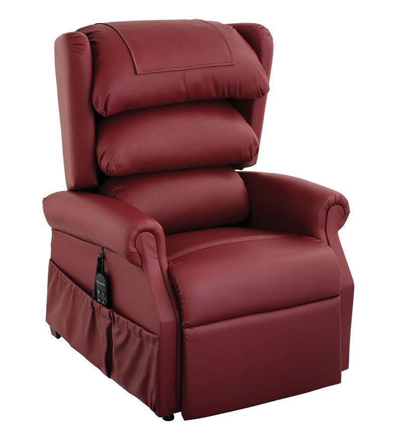 One of the recliner chairs