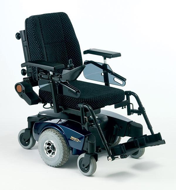 Dark blue scooter