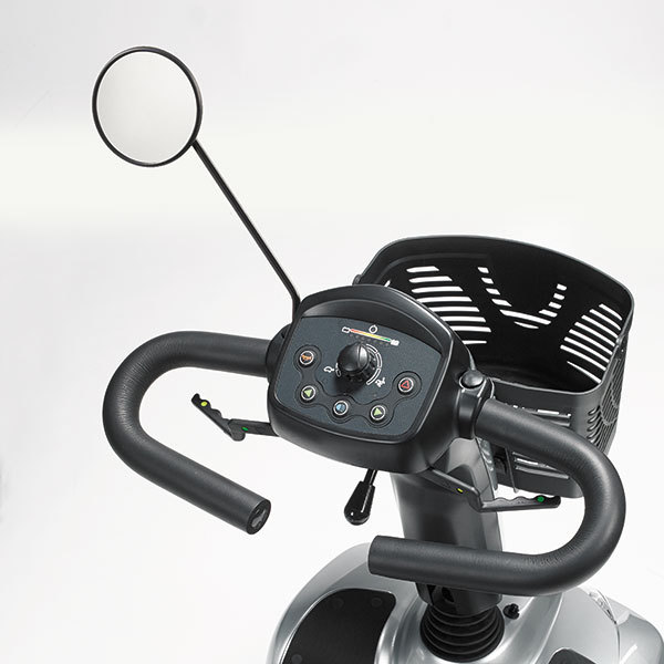 Steering wheel of a scooter