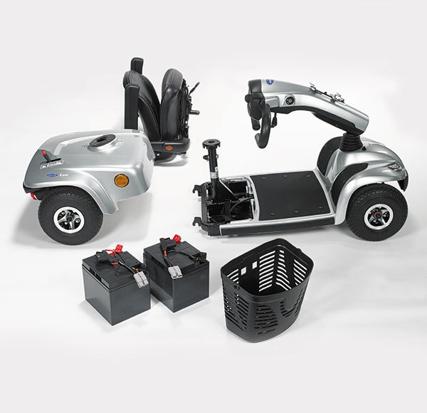 Selection of scooter parts