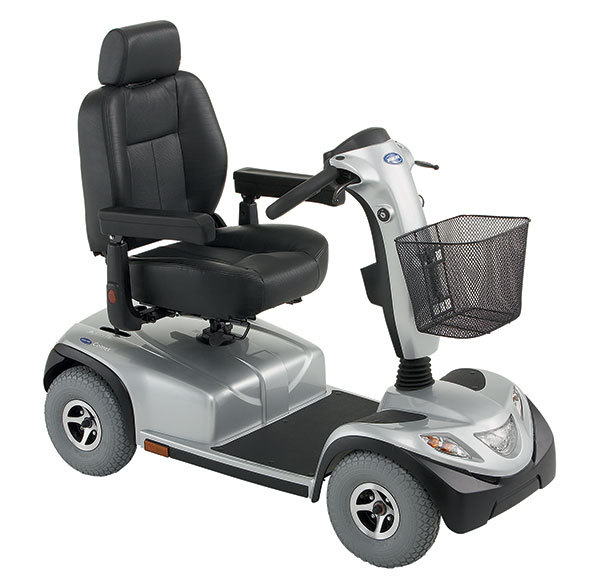Grey scooter