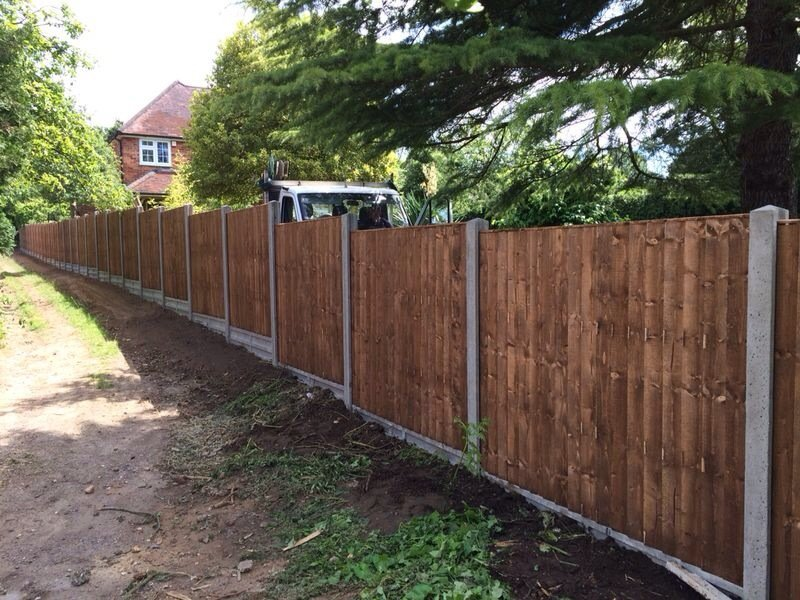 quality wooden fence