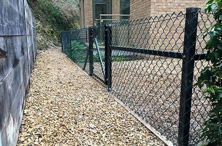 wired fence