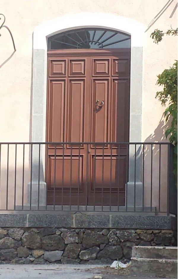 porta con profili forster