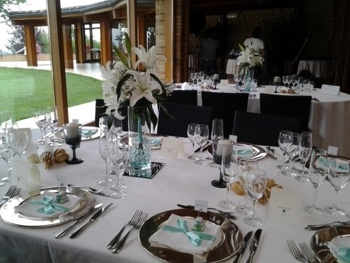 Addobbi tavoli per cerimonie