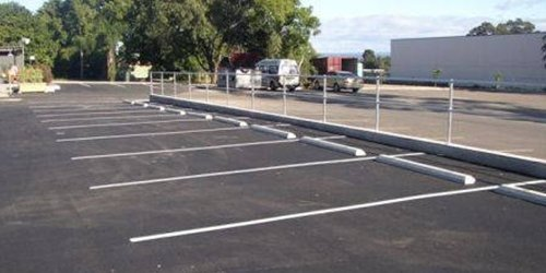A picture of our car park line marking in Corio