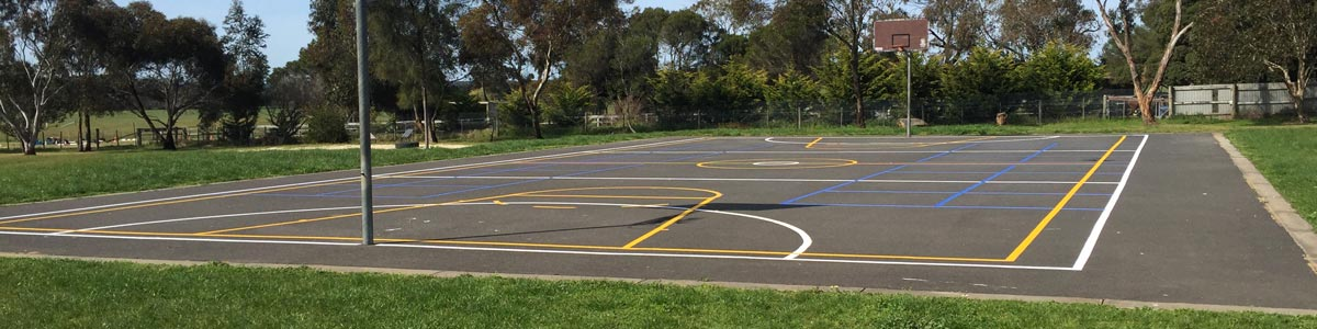 klb line marking basketball court