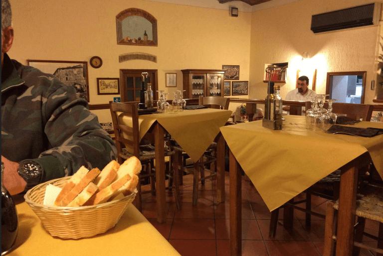 Osteria Cacio e Vino, Montemerano (GR)