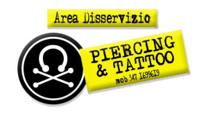 logo area disservizio piercing & tatoo