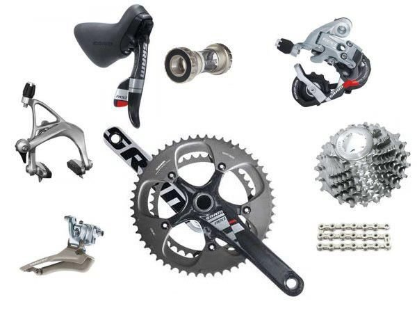 dei componenti di una bicicletta
