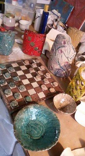 oggetti in ceramica tradizionale