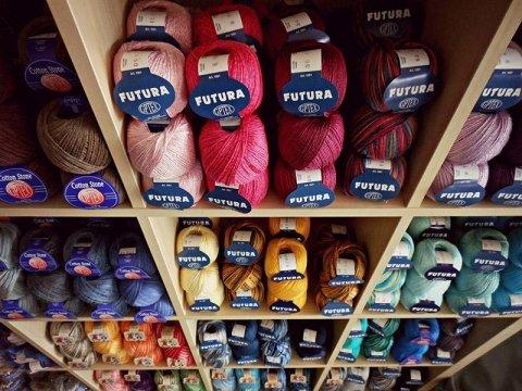 Vendita filati lana e cotone