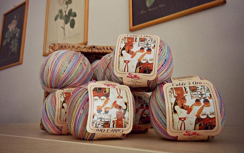 gomitoli di lana Silk