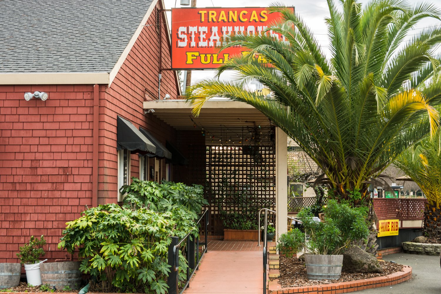 Trancas Steakhouse exterior