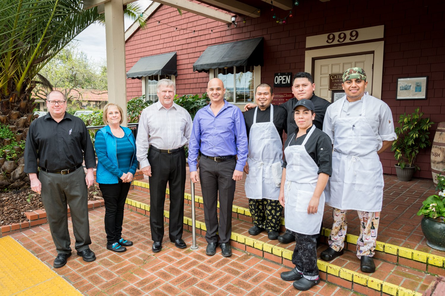 Trancas Steakhouse staff