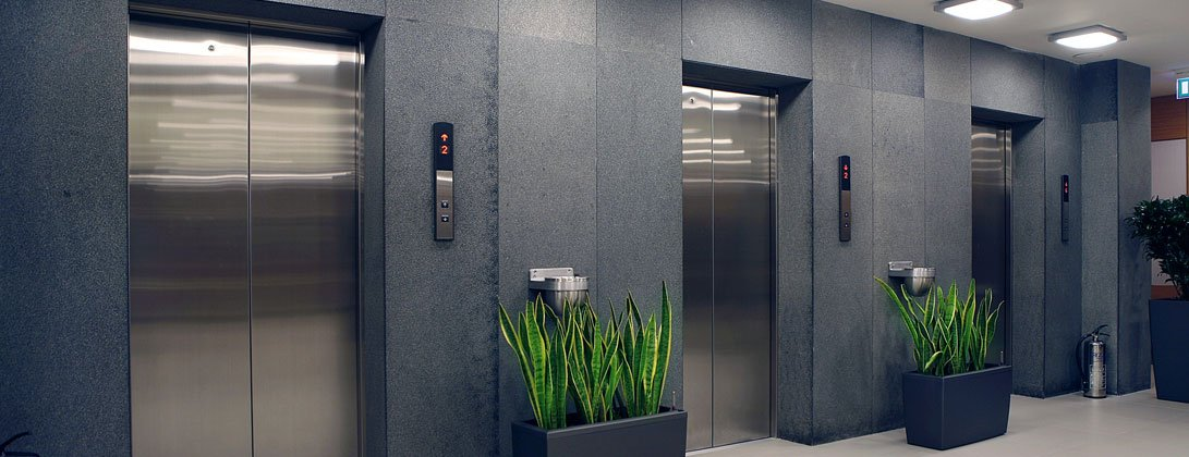 lift in a commercial building