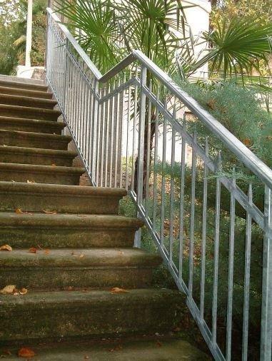 ringhiera gradini Serramenti Degano