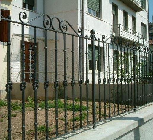 dettaglio recinzione Serramenti Degano