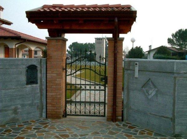 cancello casa Serramenti Degano