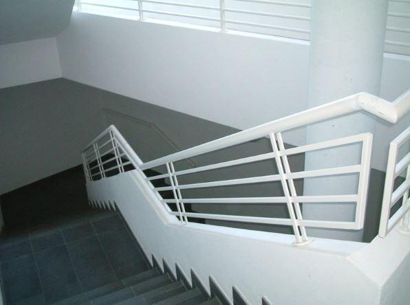 ringhiera scalinata Serramenti Degano