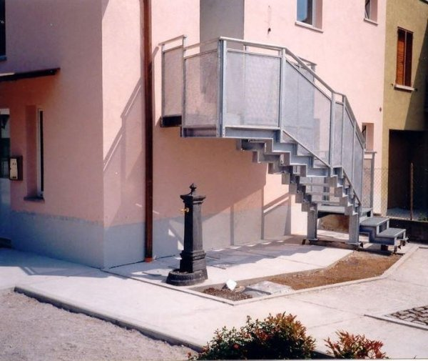 scale esterne Serramenti Degano