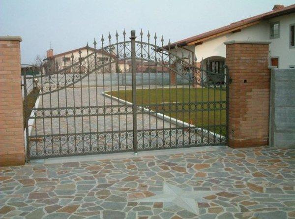 cancello ingresso Serramenti Degano