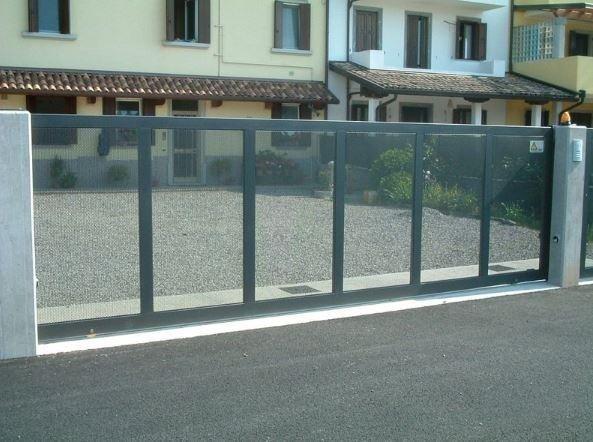 cancelli muro Serramenti Degano