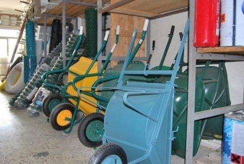 Ferramenta Pascolini, Gubbio (PG), carriole
