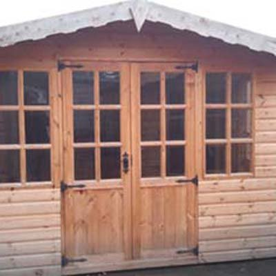 10' X 10' Barton Summerhouse