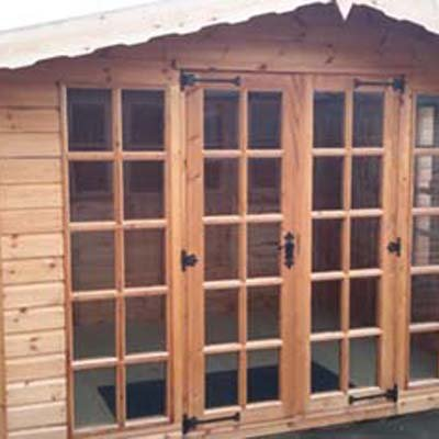 10' X 8' Wilbye Summerhouse