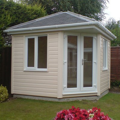 building home office. ElmbridgeBuilt To The Same Exacting Standards As Rest Of Prestige Range, Elmbrige Uses 15mm Redwood Cladding And Is Designed For Placing In Building Home Office