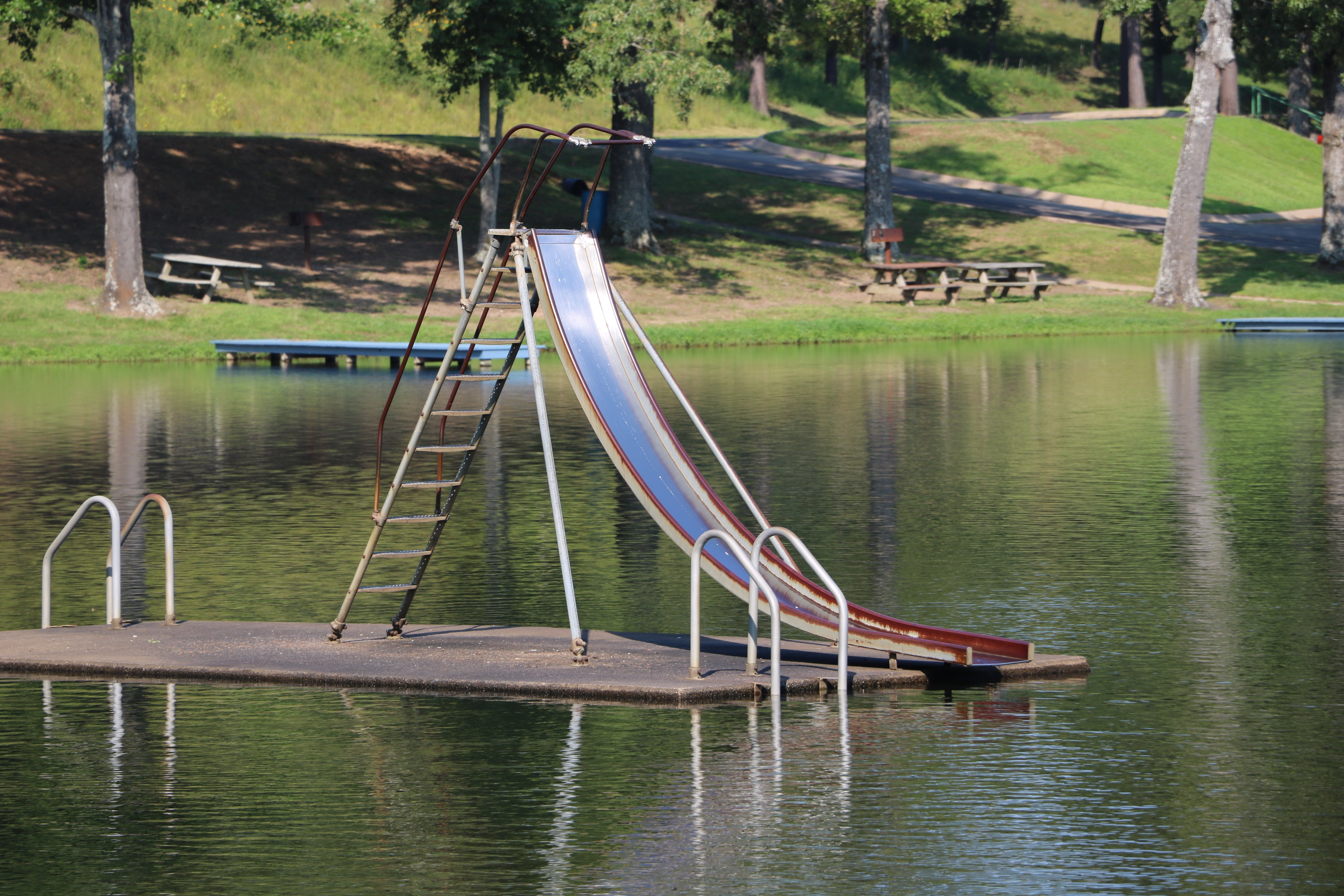 Water Slides | Diving Boards | Water Toys | Indian Lakes Resort | AR