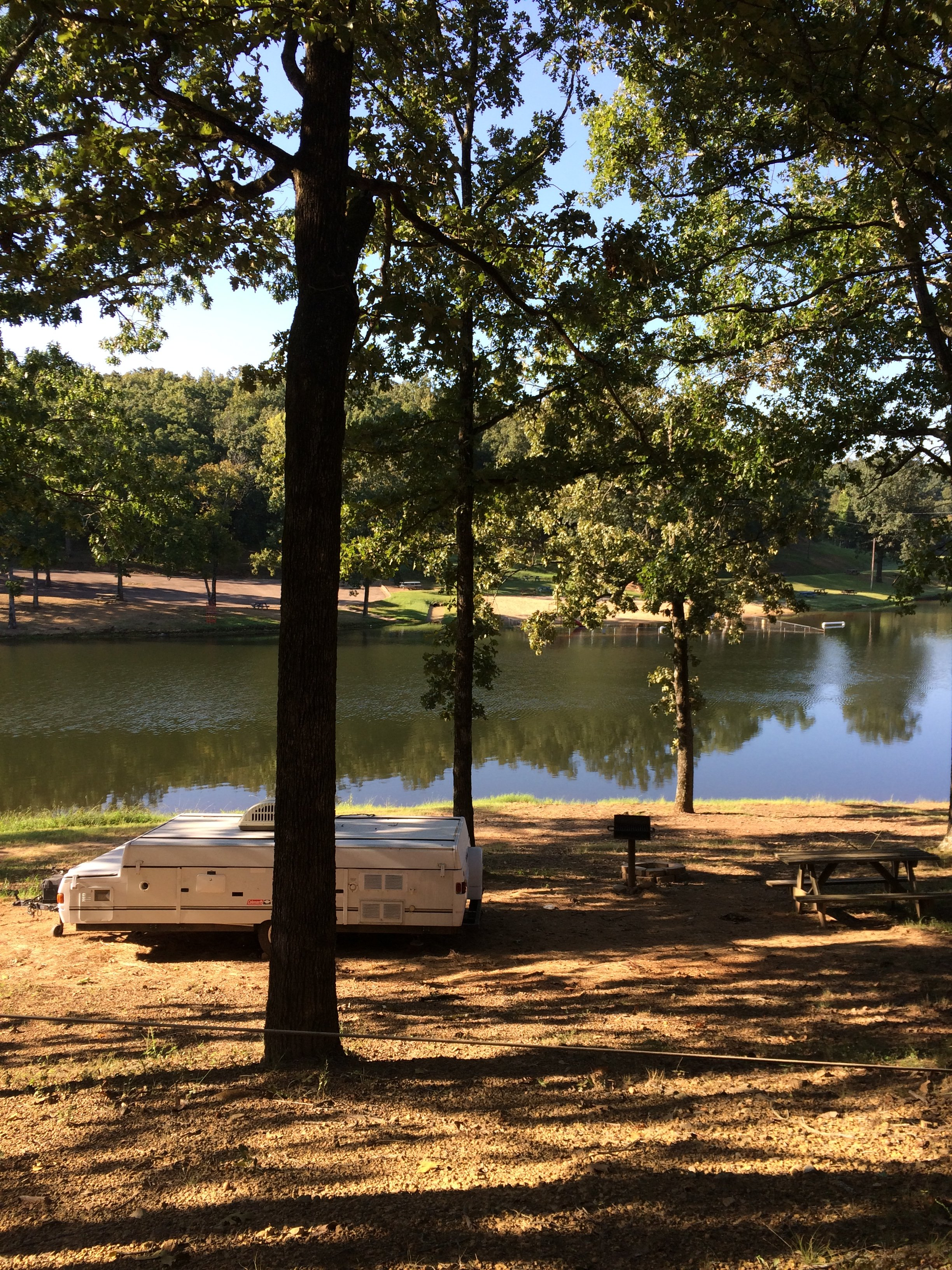 places to camp in central arkansas