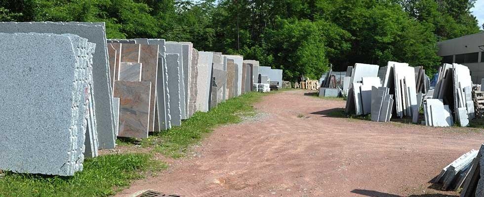Materie prime in pietra naturale