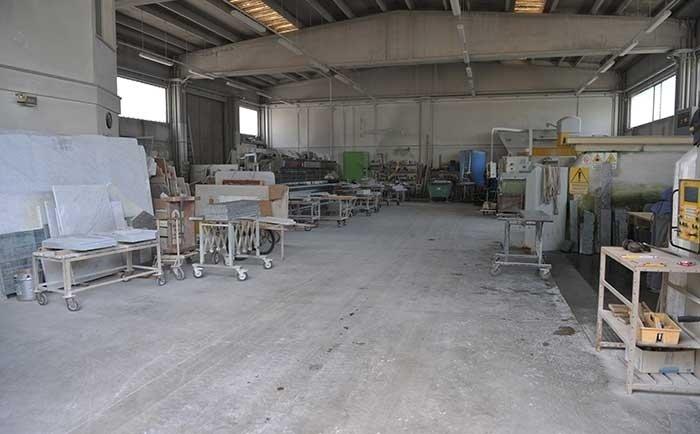 laboratorio artigianale marmo