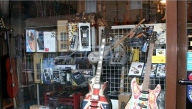 chitarre colorate