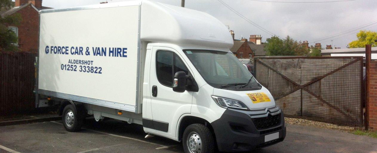 G Force Economy Van Car Hire Aldershot