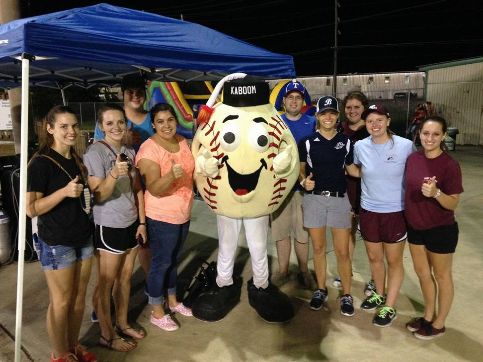 aggies at brazos bombers baseball game
