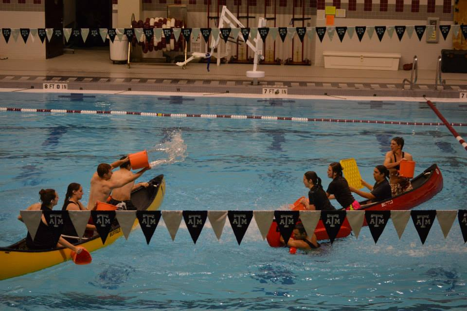 Aggies compete in intramural battleship