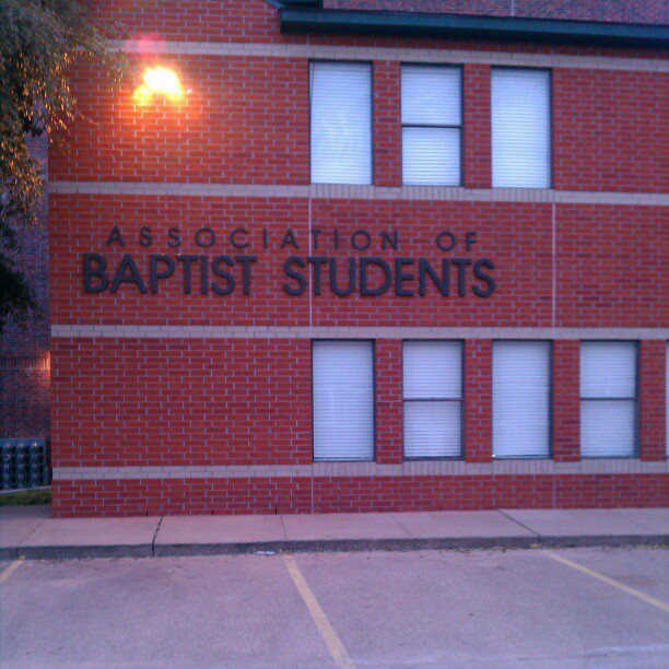 Association of Baptist Students building W.H Lavendar student center