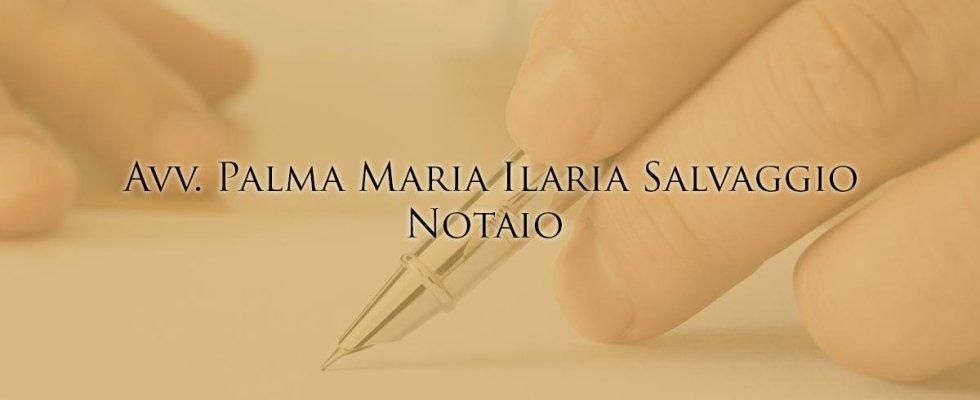 Notaio Salvaggio Palma Maria Ilaria
