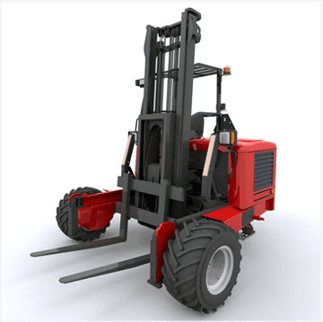 Bulk storage  - Edinburgh, Scotland - The Ron Boyd Group - Forklift